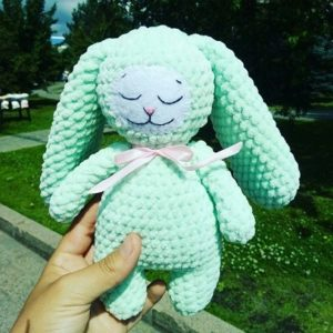 Bunny free amigurumi pattern