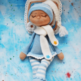 The sleeping doll free amigurumi pattern