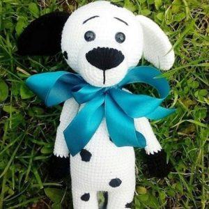 Crochet dog amigurumi pattern