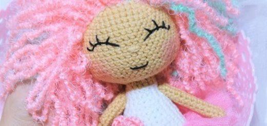 CROCHET PATTERN Cinderella Doll // Amigurumi Doll Pattern // | Etsy | 245x520