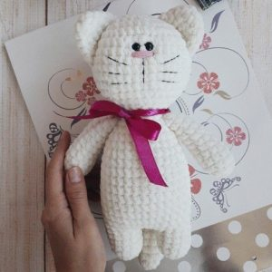 Soft kitty amigurumi pattern