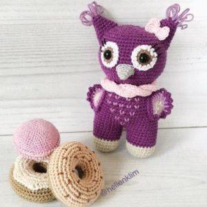 Baby owl amigurumi