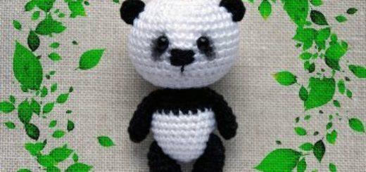 Tuto amigurumi : Le panda - Tout sur le crochet et les