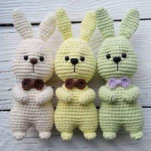 Easter bunny amigurumi pattern