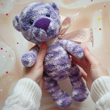 Bear amigurumi crochet toy