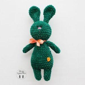 Plush bunny amigurumi