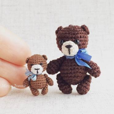 Tiny bears amigurumi