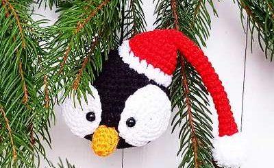 Unicorn Ornament - Free Crochet Pattern -   Christmas crochet ...   245x400