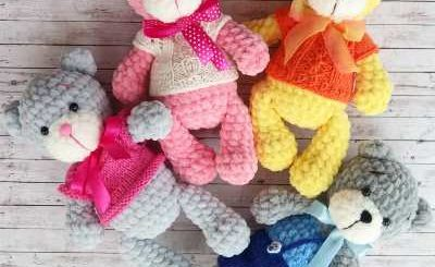 Yazıyı Oku...   Amigurumi modelleri, Amigurumi oyuncak bebek, Ayıcık   245x400