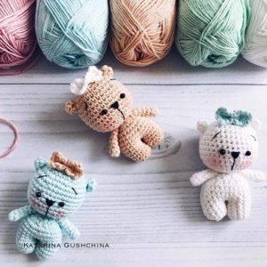 Crochet teddy bears amigurumi