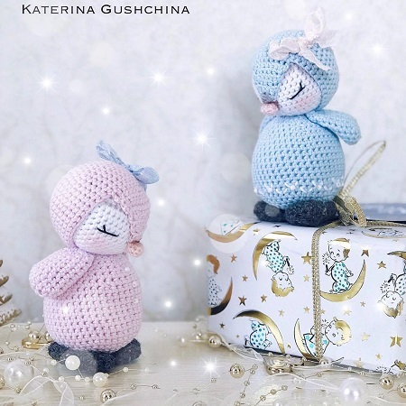 Crochet penguins amigurumi