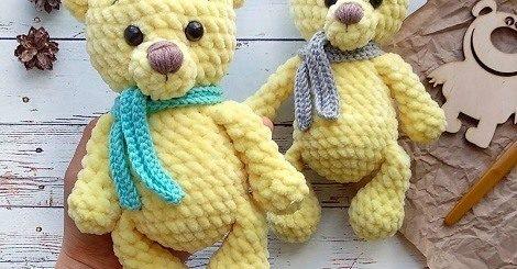 15 Crochet Teddy Bear Patterns | 245x470