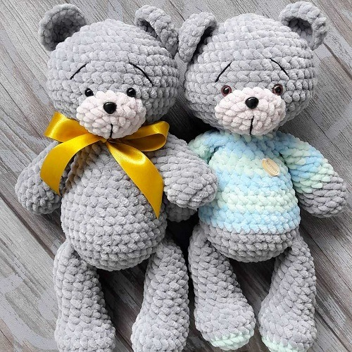 Crochet teddy bears amigurumi