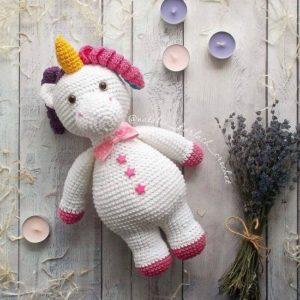 Crochet unicron amigurumi