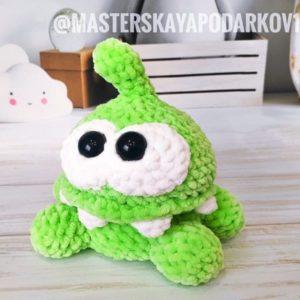 Om Nom crochet pattern