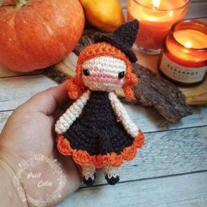 Crochet Halloween witch