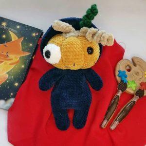 Mister Pumpkin crochet pattern