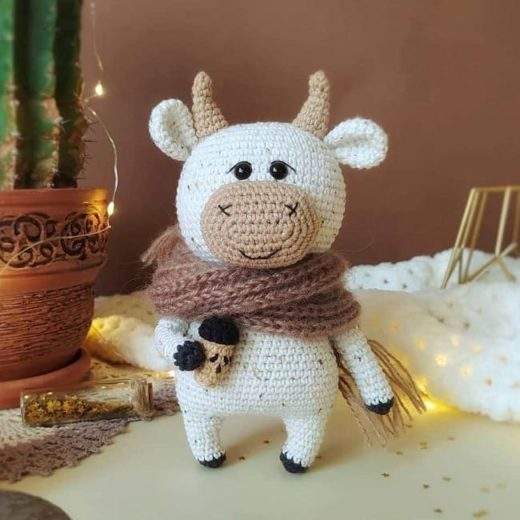 Willy the crochet bull pattern