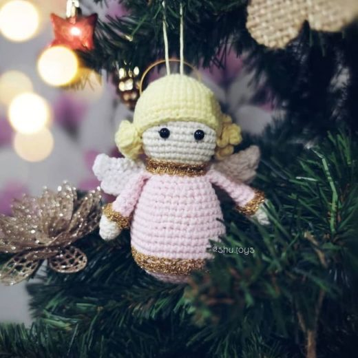 Crochet little angel